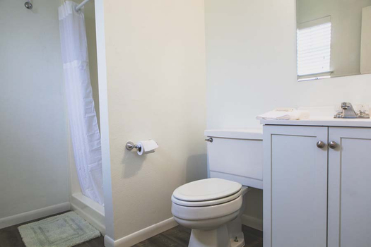 Cabin With Bathroom