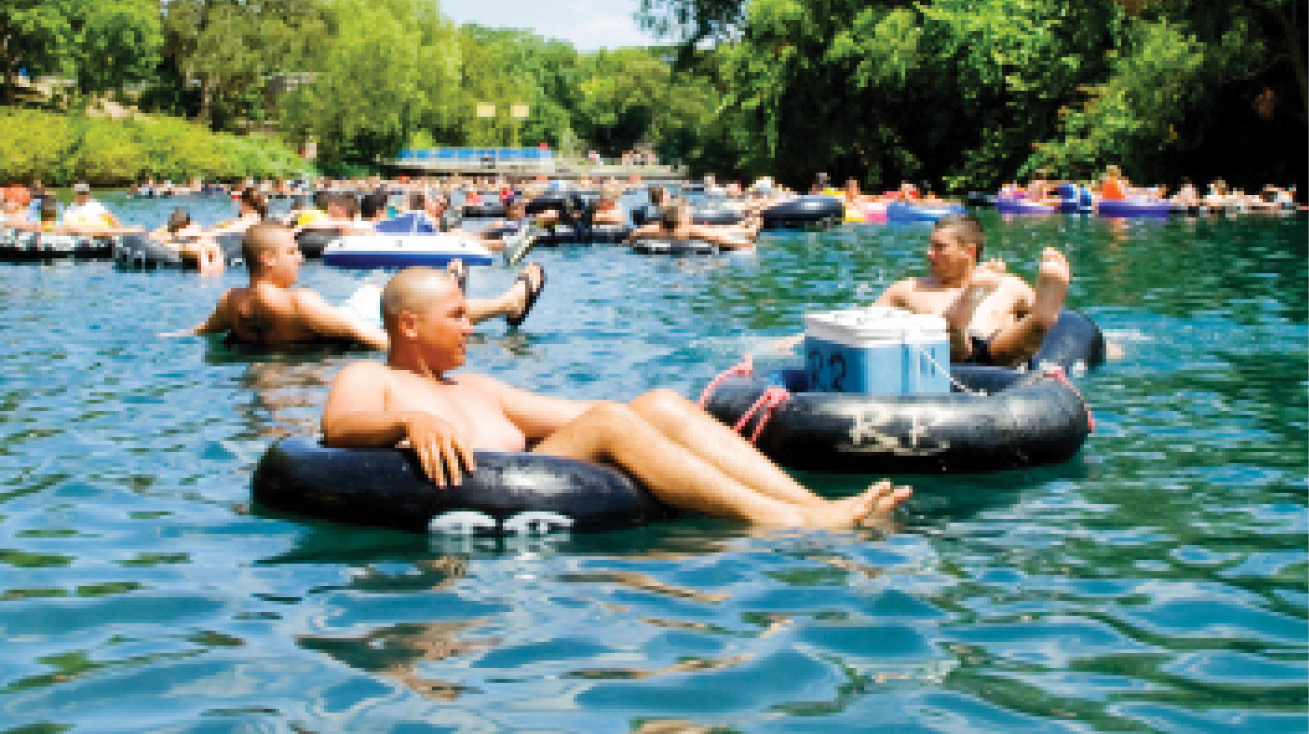Guadalupe River Tubing and Camping