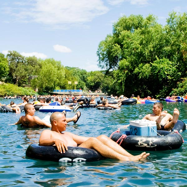 Campground Tubing Guadalupe River