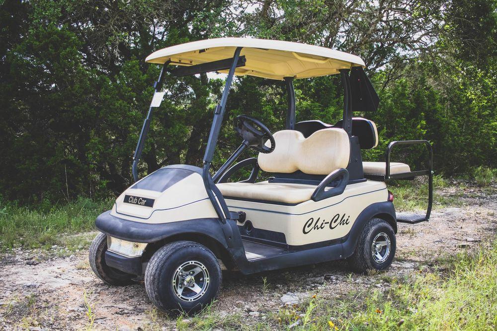 Chi-Chi Golf Cart