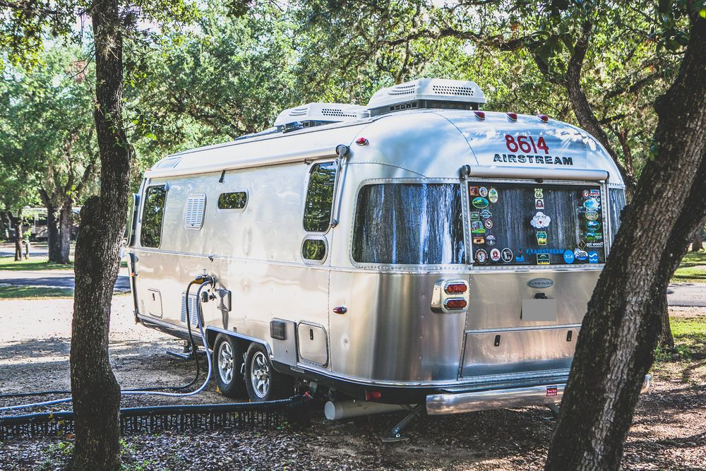 Airstream at the Canyon Lake RV Park