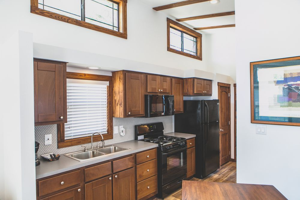Tiny House Large Kitchen