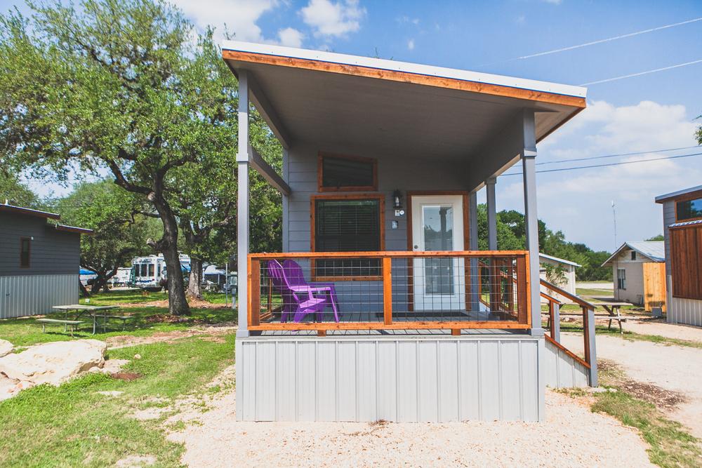 Contemporary Tiny House Vacation Rental