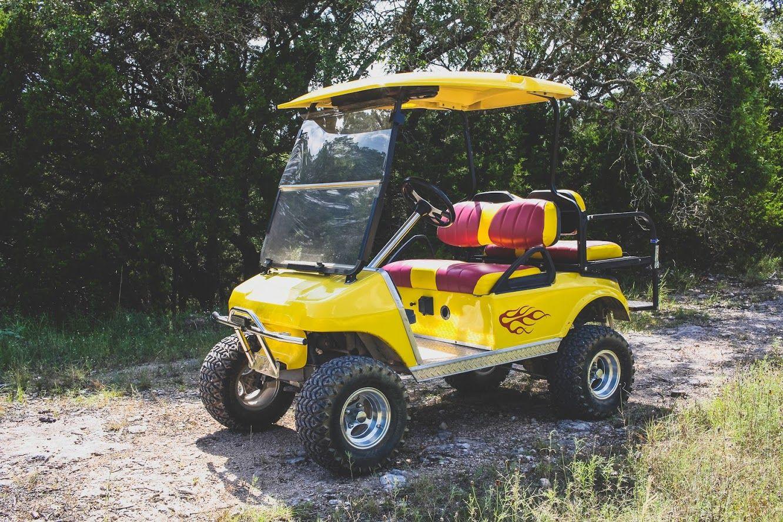 Sunny D Golf Cart