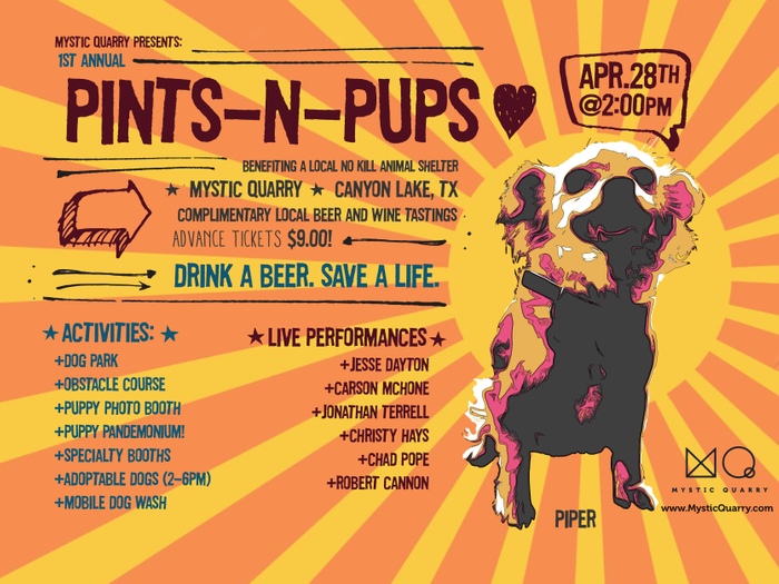 Pints-N-Pups - Canyon Lake Animal Shelter Fundraiser