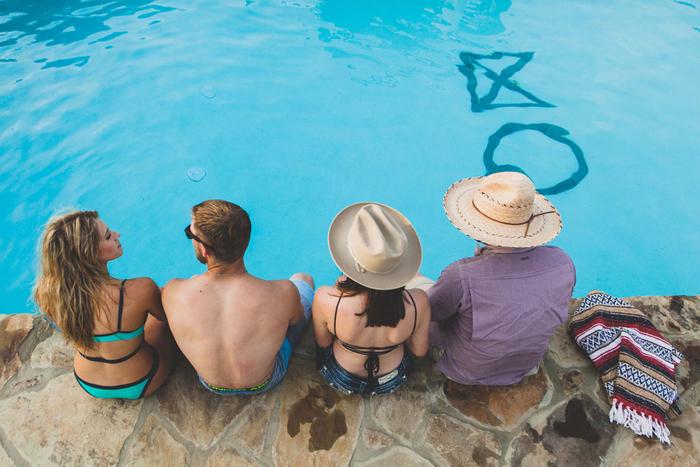 Pool at our Canyon Lake Resort