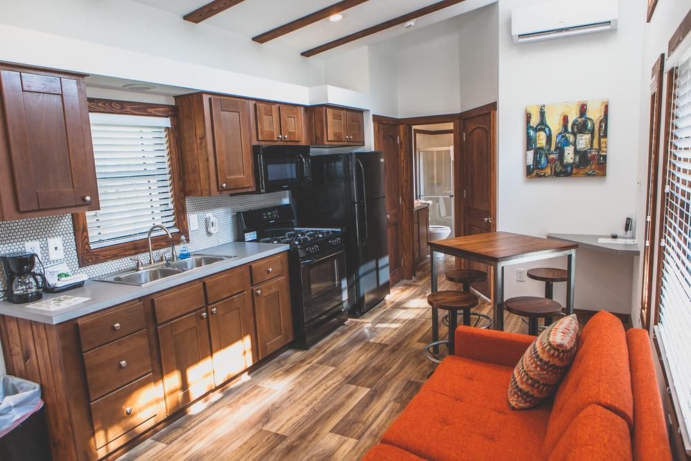 Modern Rustic Cabin Kitchen