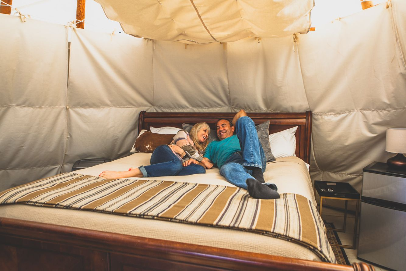 Canyon Lake Glamping Tents