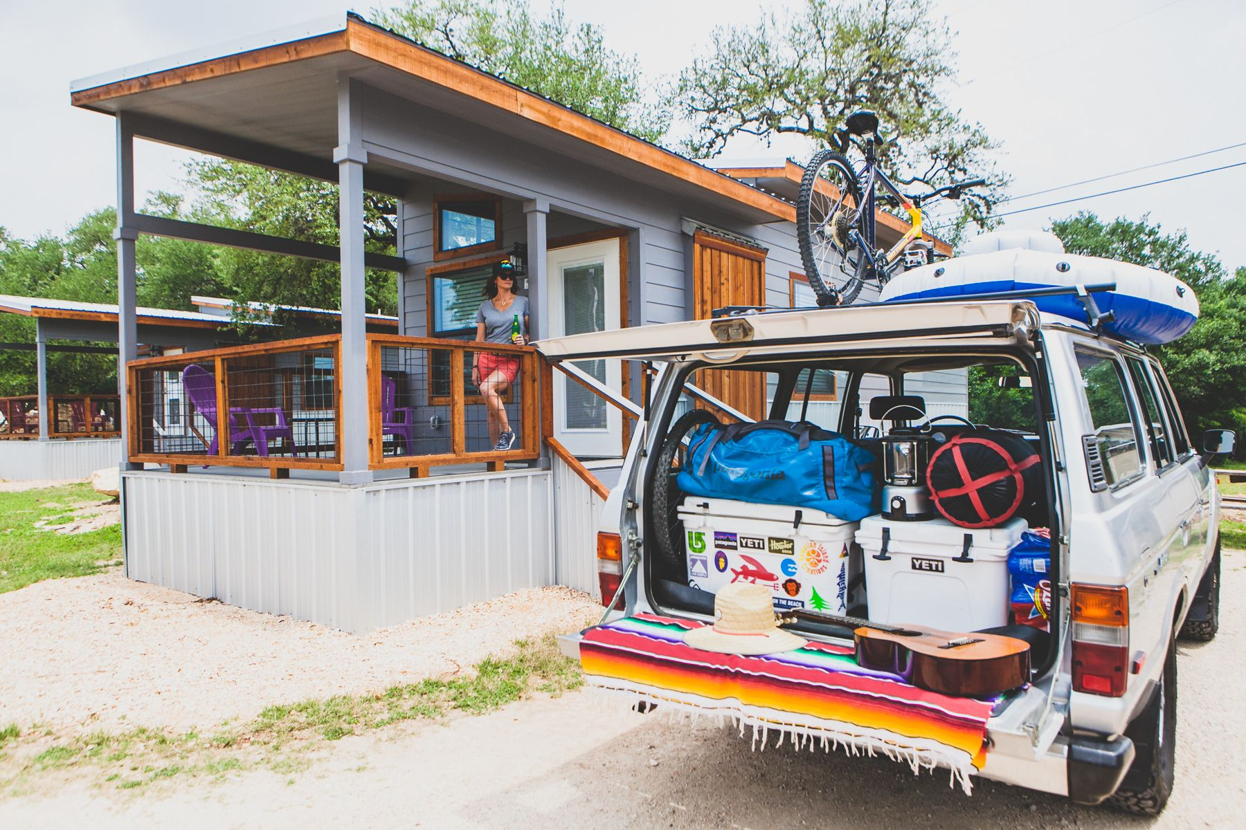 Tiny House Campground in Texas
