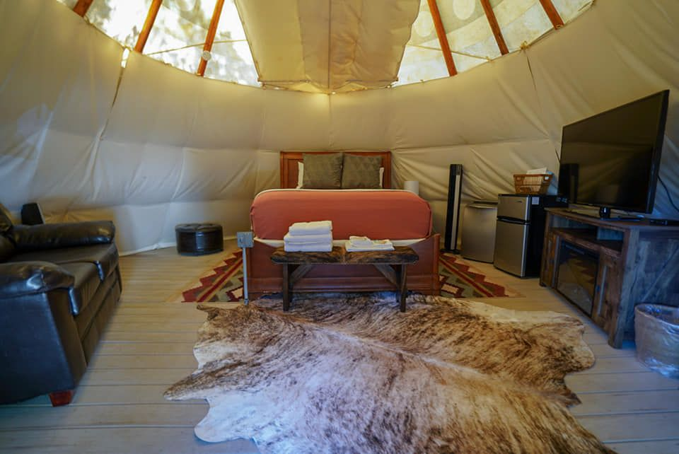 Sioux-style Glamping Tipi in Canyon Lake, TX