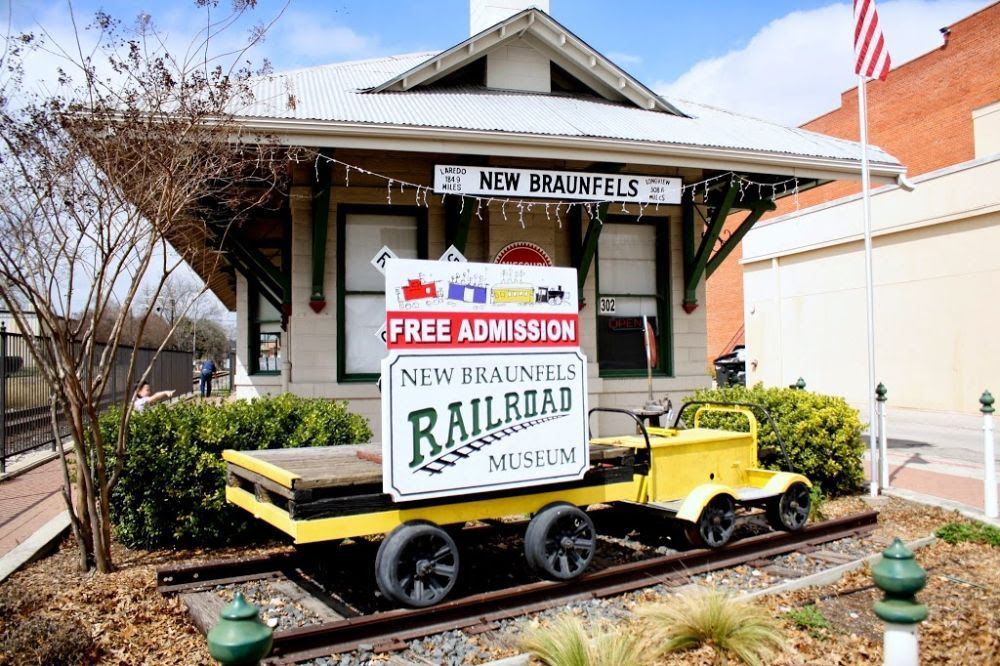 New Braunfels Railroad Museum