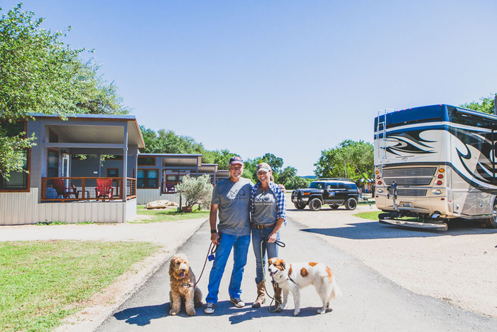 Dog Friendly Glamping in Texas