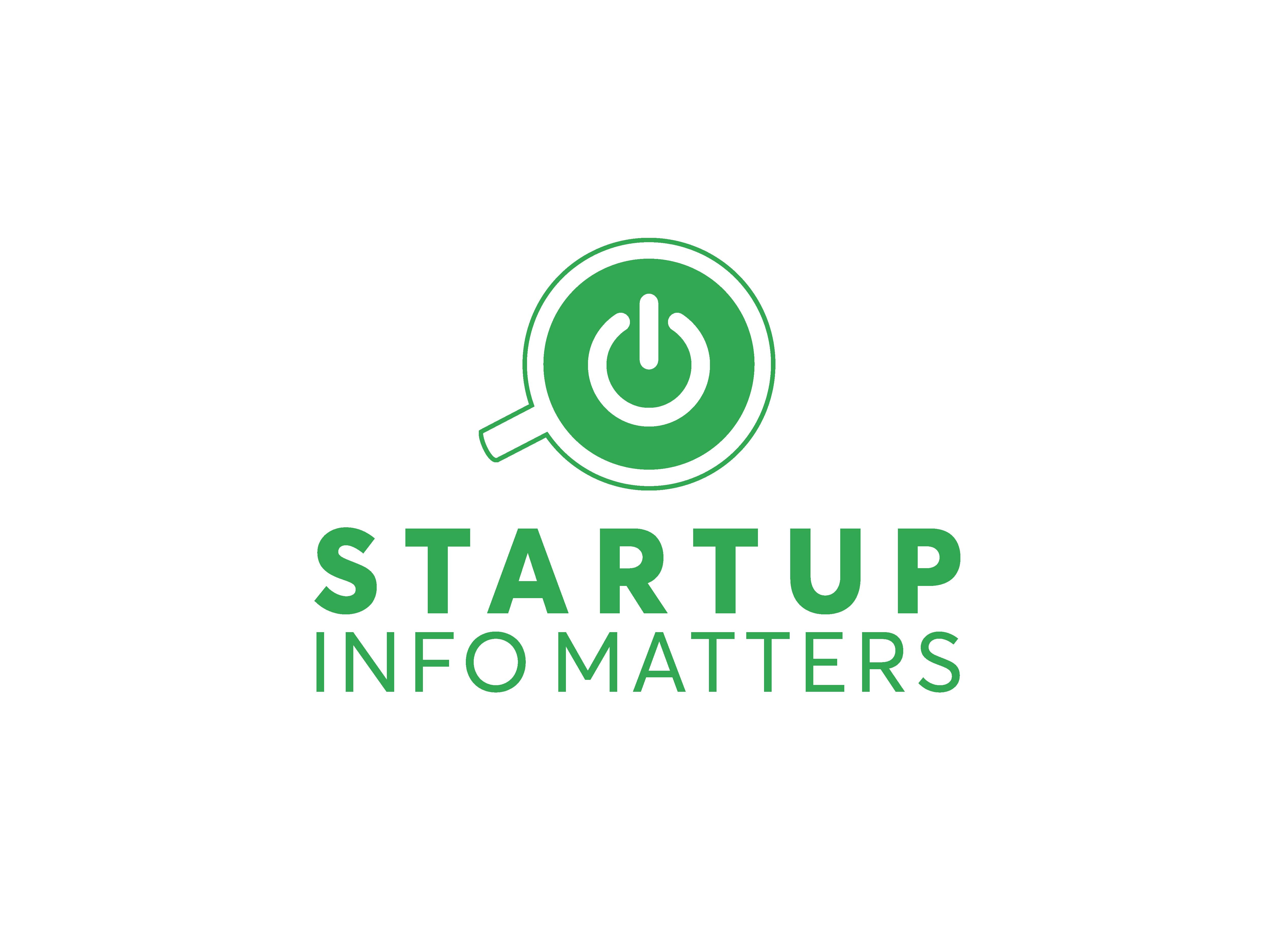 Startup Info Matters