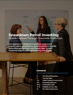 Drawdown Patrol Investing