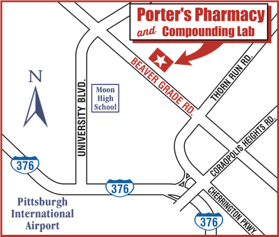 Porter's Pharmacy and Compounding Lab - Map .png