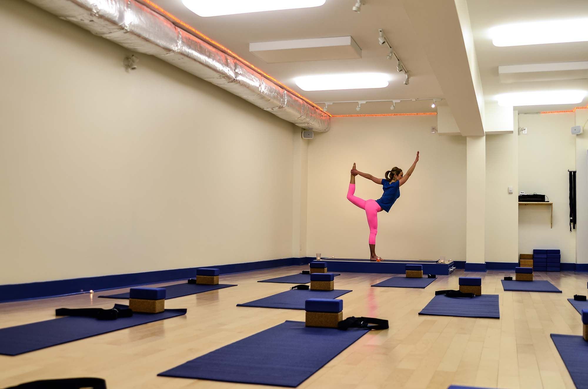 Fitness infused, warm yoga classes at studio blue are vitalizing, appropriate for women and men of all ages and fitness levels