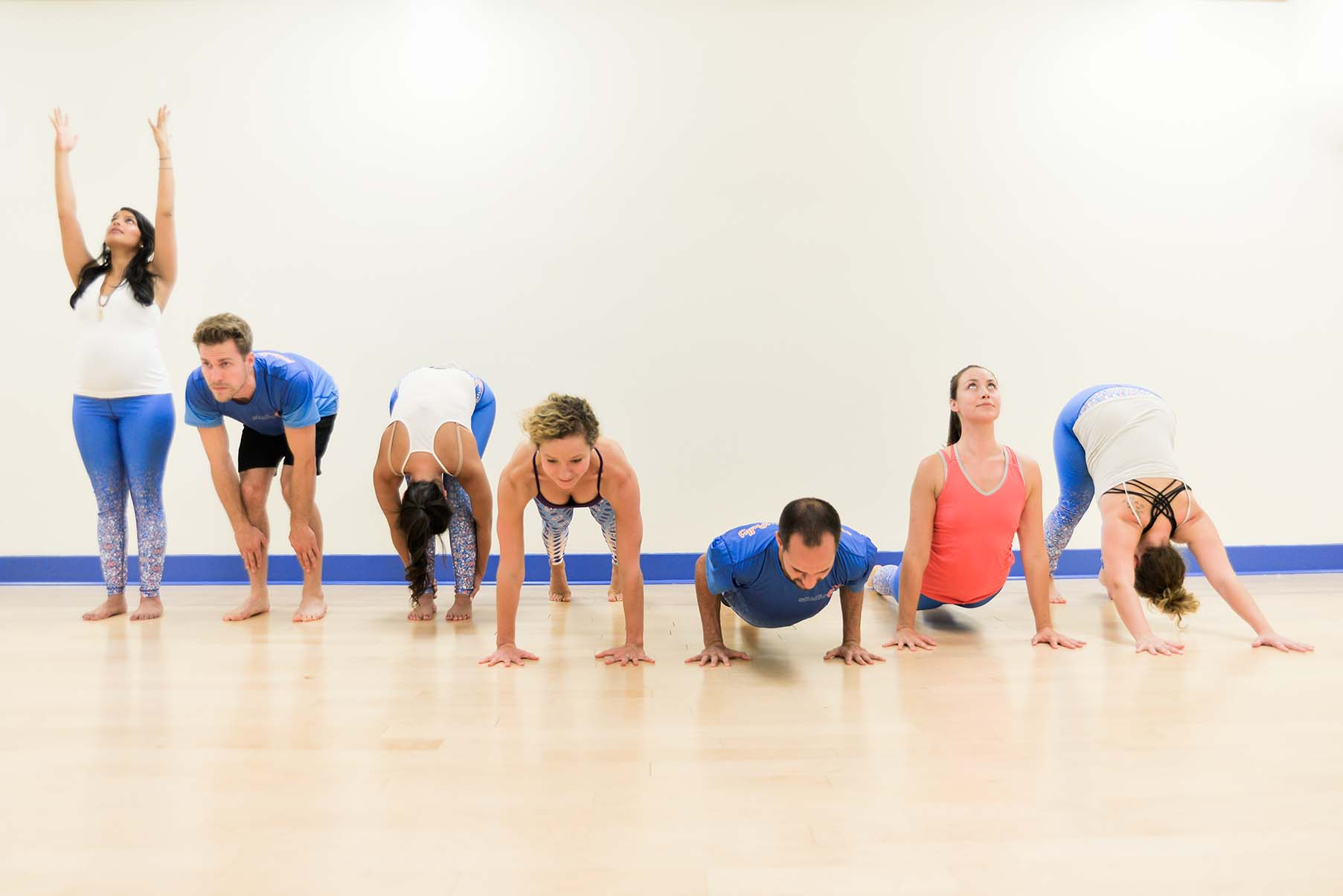 Studio Blue Yoga & Fitness, practice playfully