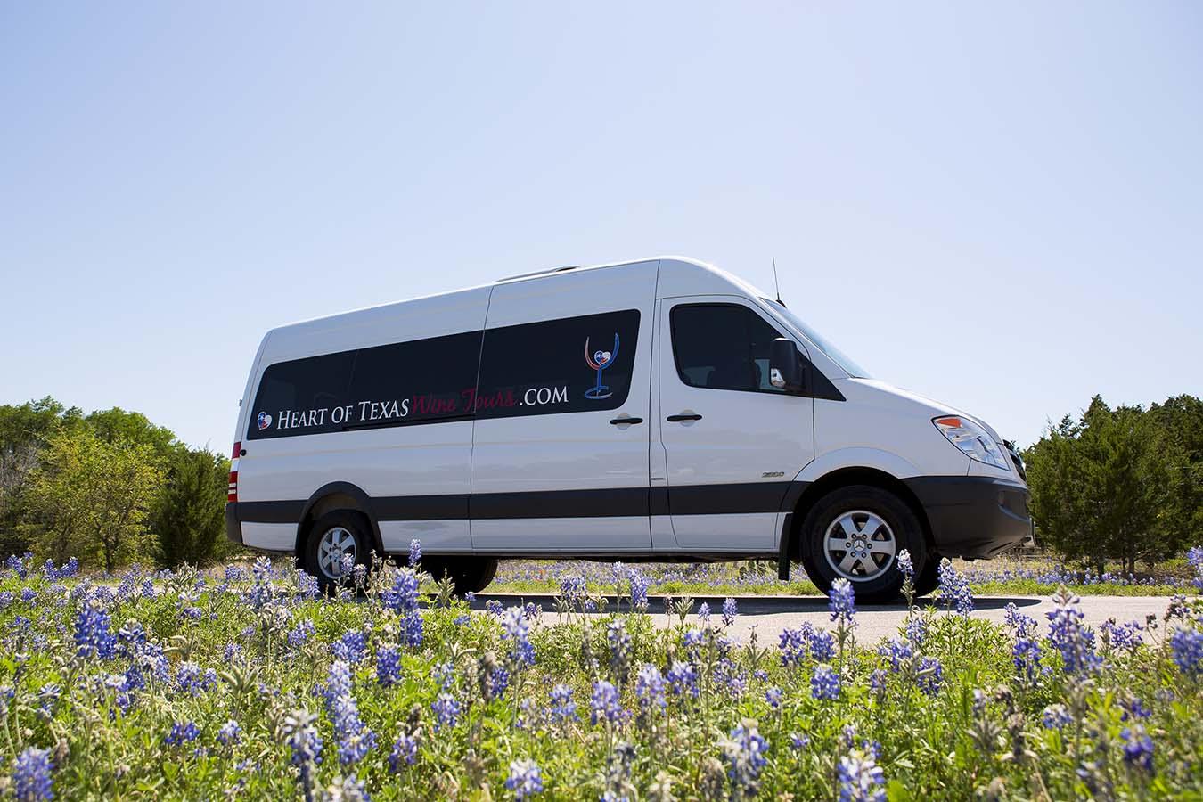 texas wine tour bus