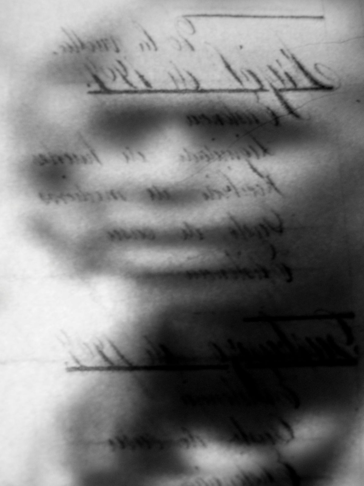 Birth of A Nation, 2010, Black and White Abstract Photography, Shirine Gill