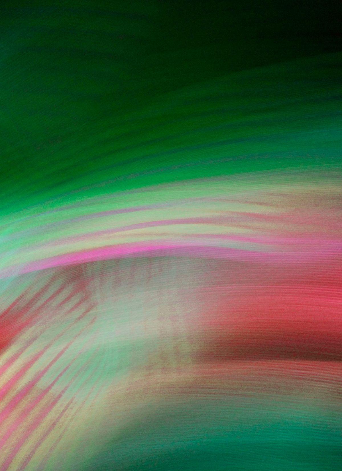 Orientalist III, 2009, Abstract Color Photography, Shirine Gill