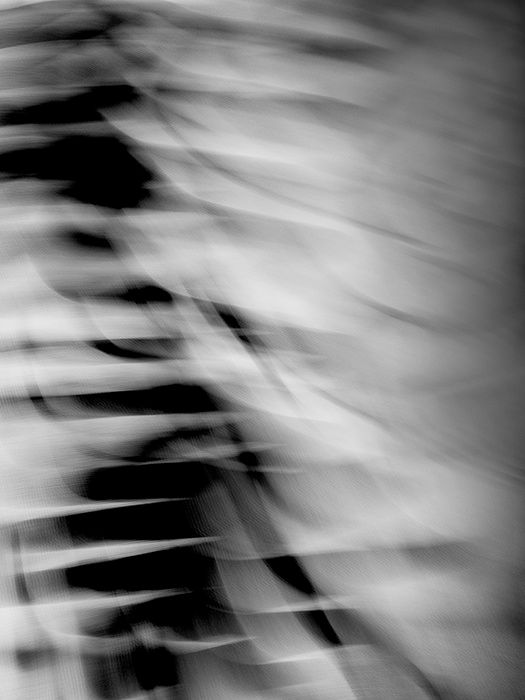 Untitled, M. Doodles 1, 2014, Black and White Abstract Photography, Shirine Gill