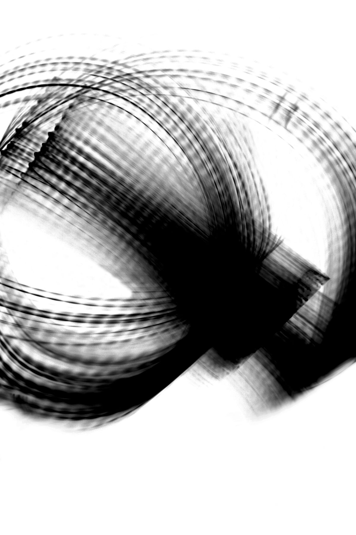 Lucifer Lights, 2008, Black and White Abstract Photography, Shirine Gill