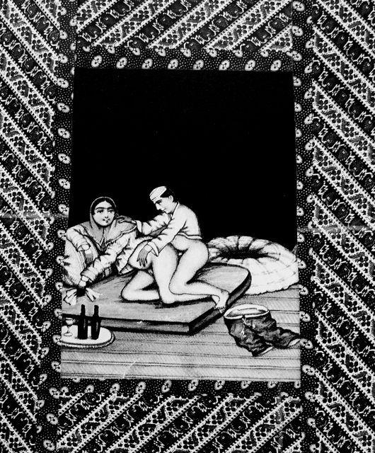 Persian to Persian; 2004; Shirine Gill, Cutout photography