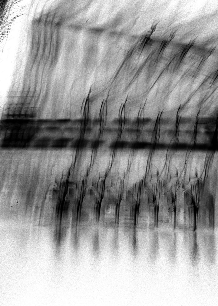 Venice On My Mind, 2012, Black and White Abstract Photography, Shirine Gill