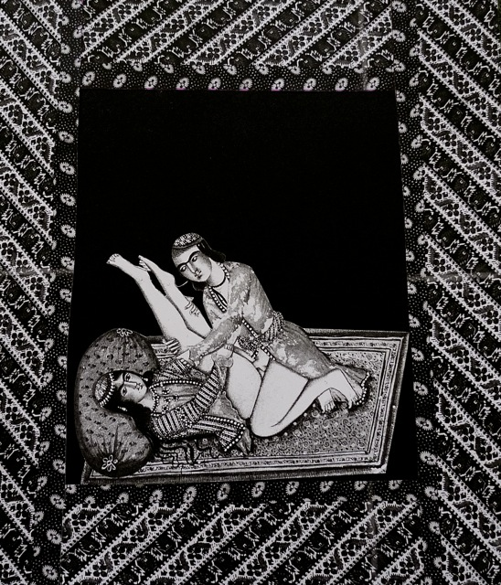 Persian to Persian; 2004; Shirine Gill, Cutout photography