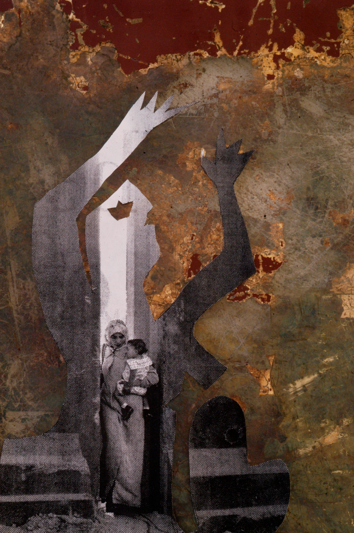 Guernica Redux, 2004, Abstract Photography, Shirine Gill