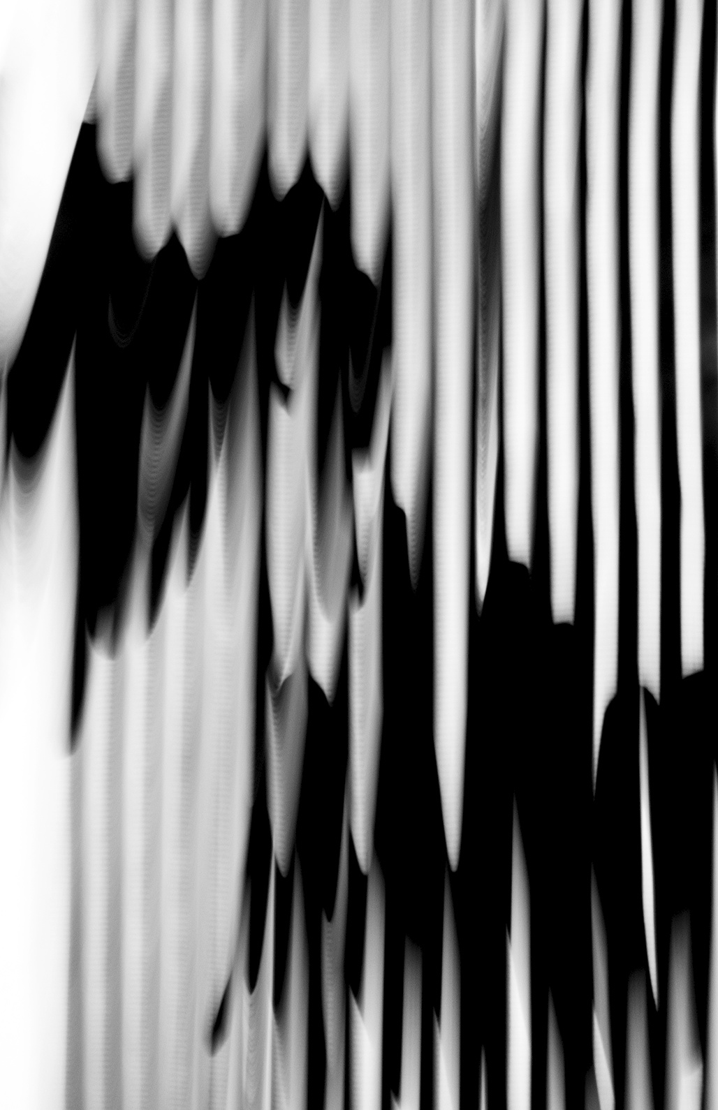 Untitled, M. Doodles 2, 2014, Black and White Abstract Photography, Shirine Gill