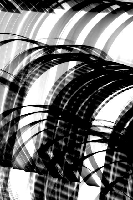 Tate Drawings, 2005, Black and White Abstract Photography, Shirine Gill