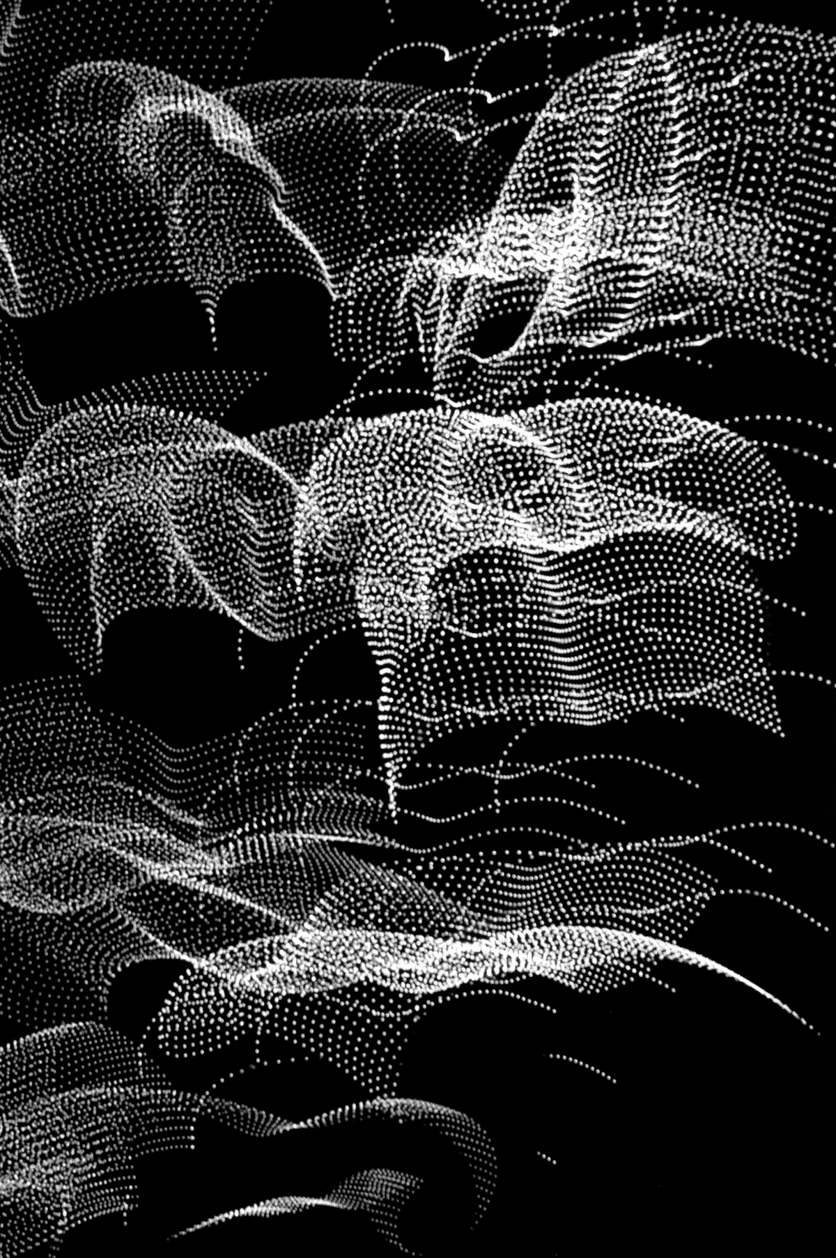 Nights of St. Lorenzo, 2007, Black and White Abstract Photography, Shirine Gill