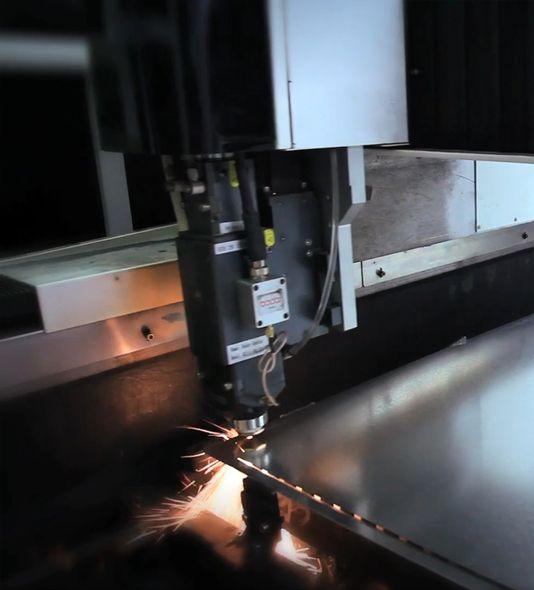 Laser Cut Sheet Metal