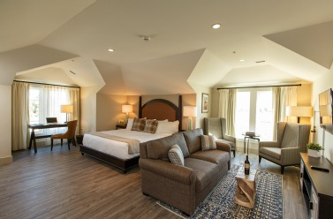 Accommodations at The Inn at the Chesapeake Bay Beach Club