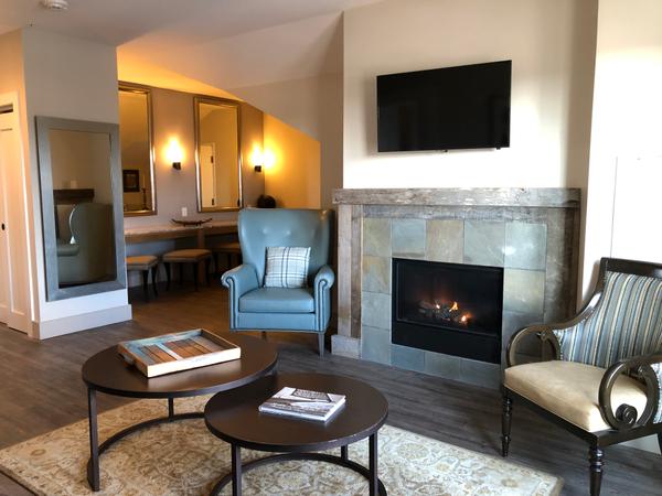 Veranda Suite Living Room