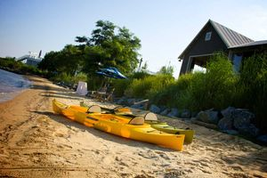 beach club kayaking