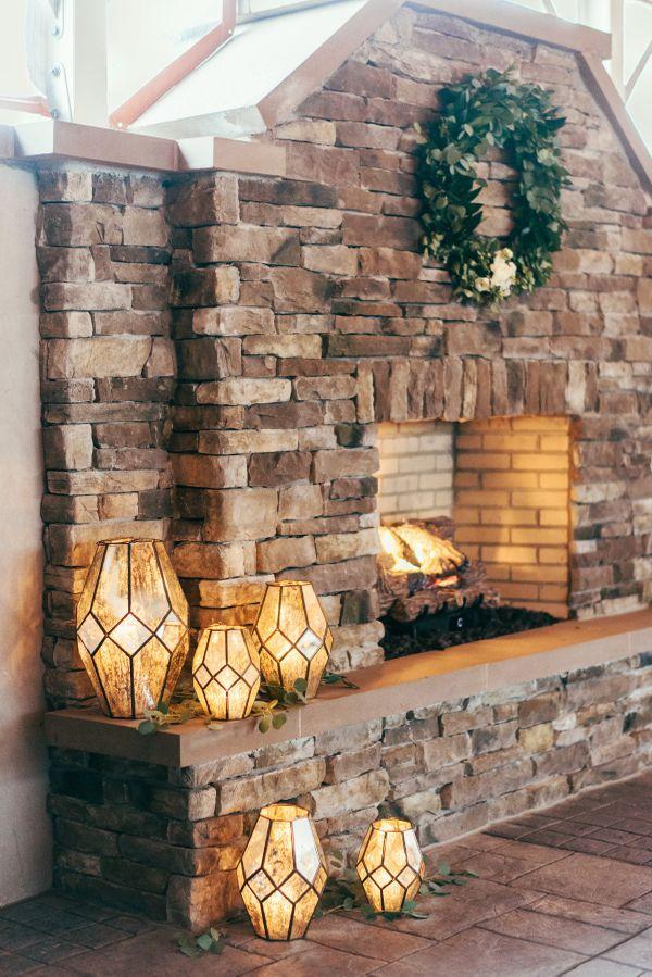 Inn Ballroom Tent Exterior Fireplace
