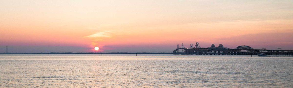 Chesapeake Bay at Sunset