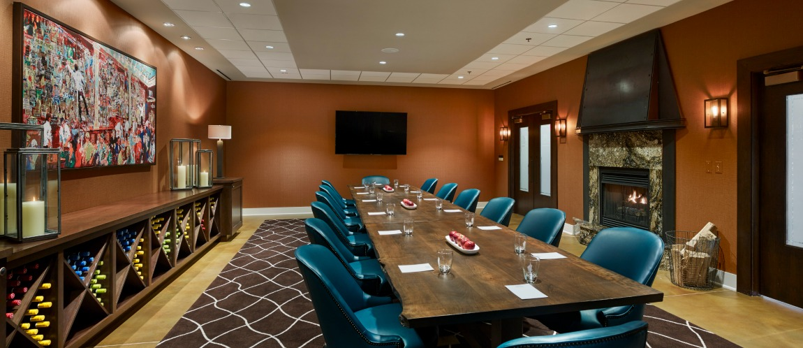 The Boardroom at The Inn at the Chesapeake Bay Beach Club