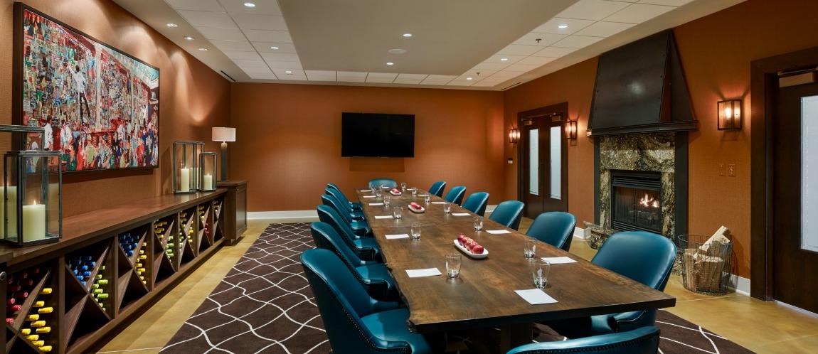 The Boardroom at The Inn at the Chesapeake Bay Beach Club