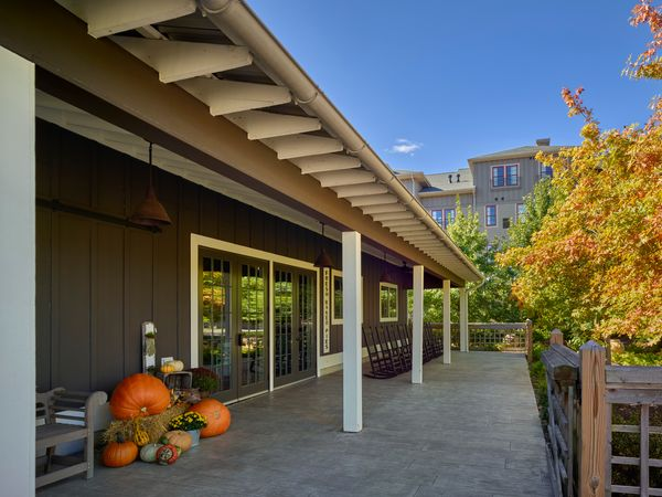 Tool Shed | Fall Exterior