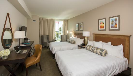 Doube Queen Coast Luxury Hotel Room