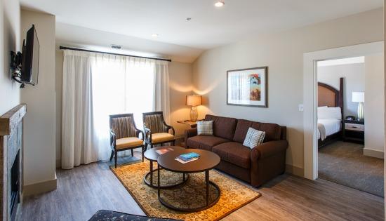 The Veranda Suite Living Room