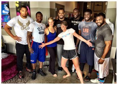Dancers Shape Athletic Training