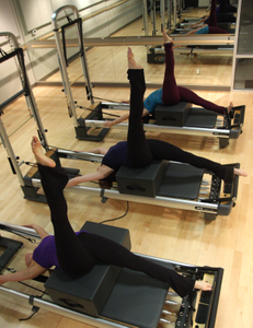 fitness training with dancers shape