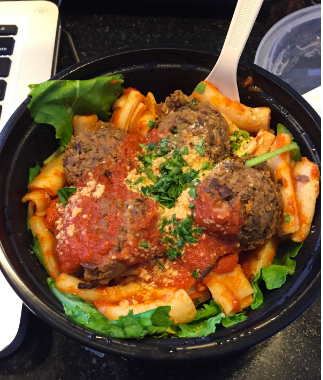 Meatless Meatballs with Marinara