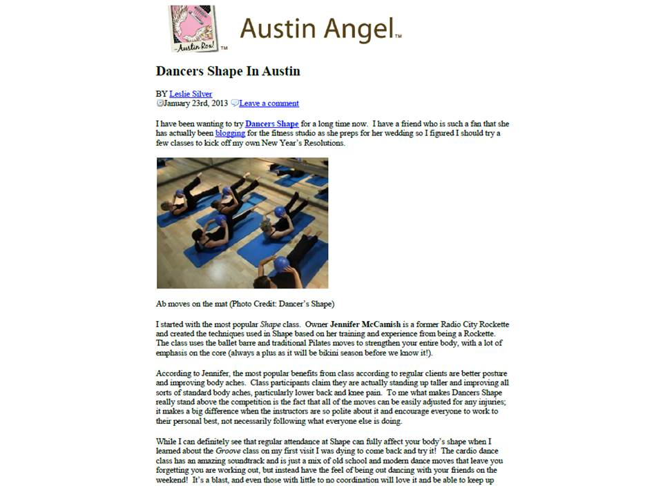 Dancers Shape_Ask Miss A Slide 1 (January 23, 2013) press clip.jpg