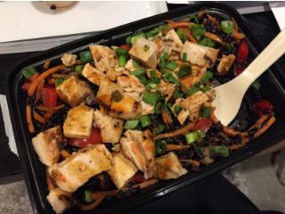 Chicken Teriyaki with Rice