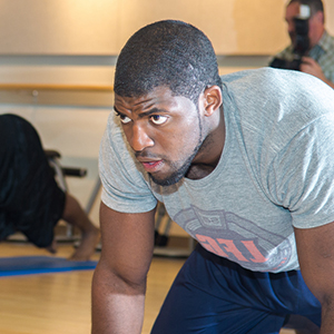 Emmanuel Acho athletic conditioning